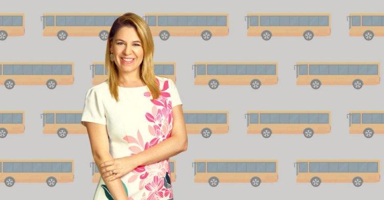 Claudia Dobles. Primera Dama apoya el proyecto de Sectorización.