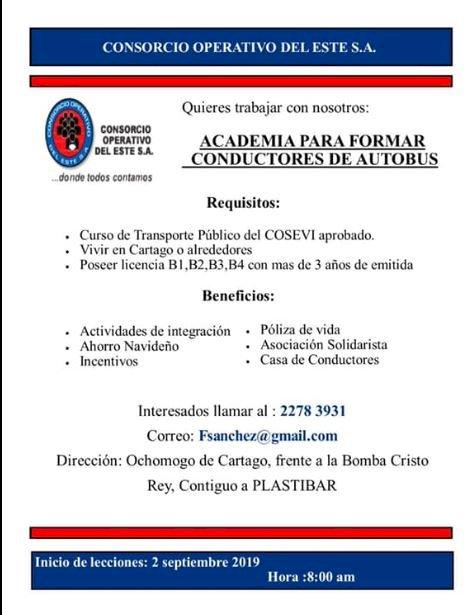 ACADEMIA DE CONDUCTORES