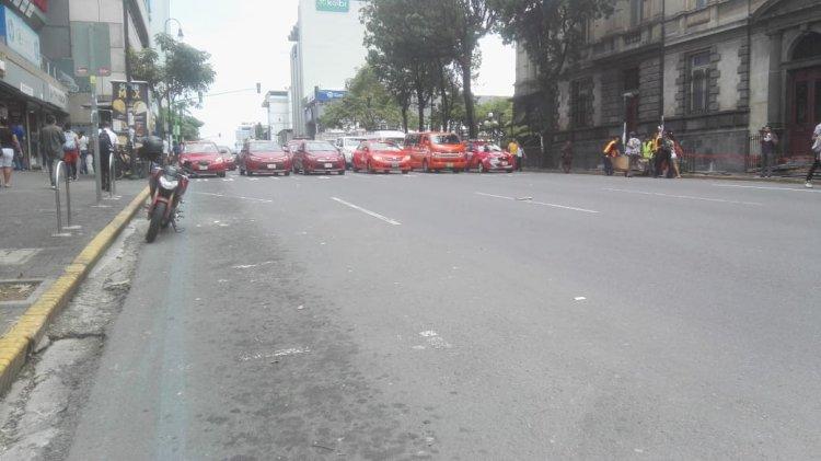 Huelga de taxistas