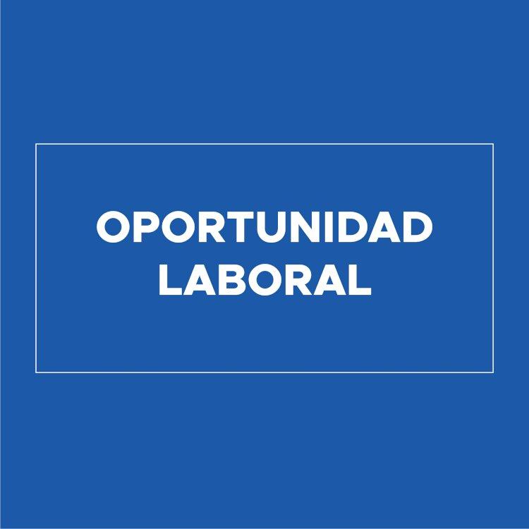 Oportunidad laboral